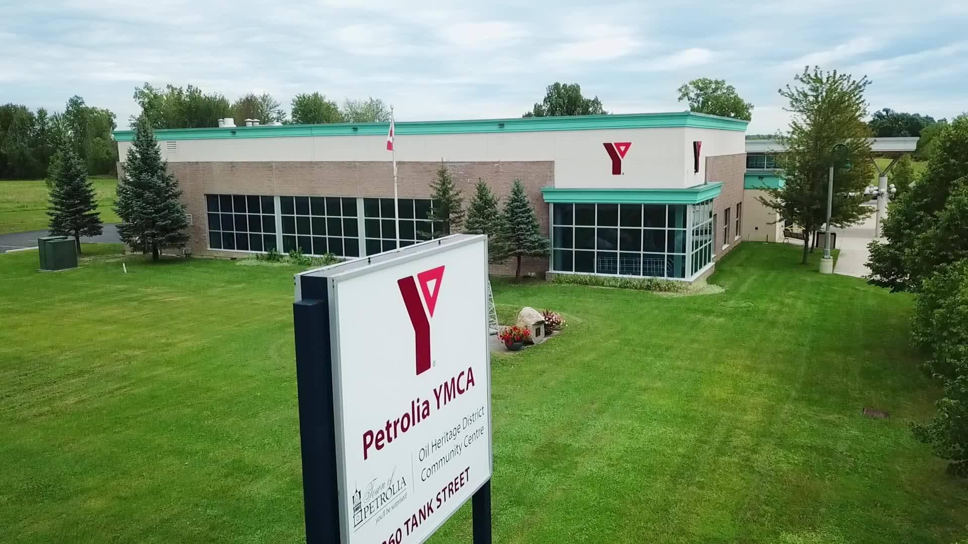 Petrolia YMCA Exterior